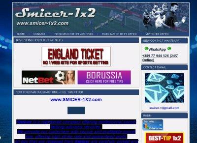 TOP 10 Sport Sites - Stats - Smicer-1x2 com