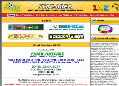 Statarea com soccer predictions for today