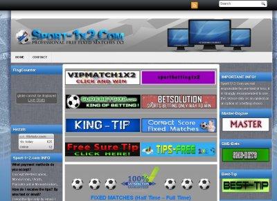 TOP 10 Sport Sites - Stats - Sport-1x2 com
