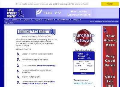 total cricket scorer